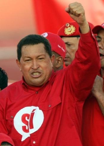 VENEZUZLA sous la botte d'un dictateur rouge et dangereux ! Chavez10
