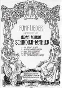 mahler - Alma Mahler Schind10