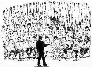 Le coin des Anciens de l'orchestre