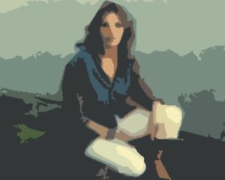 Petit jeu collectif en dessins Femme10