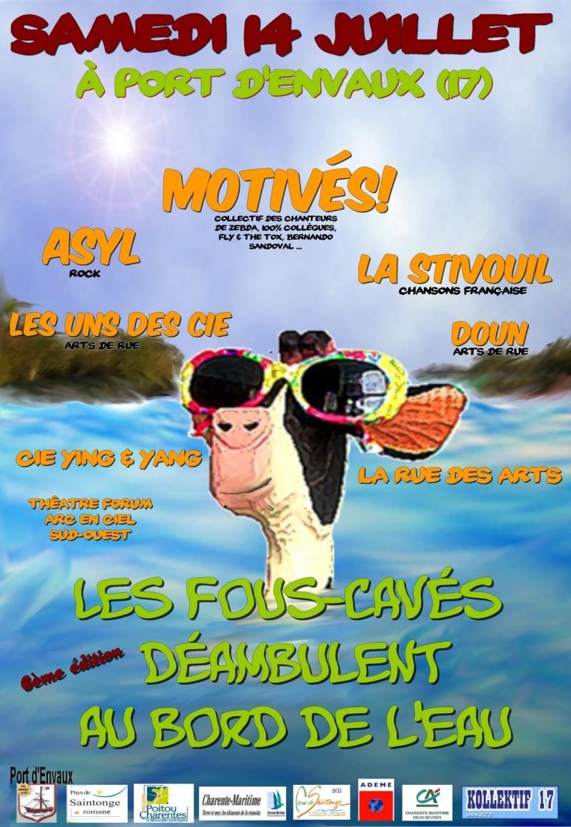 Les Fous-Cavés déambulent - 14/07/07 - Port d'Envaux (17) Recto_11