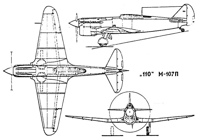 Quelques prototypes soviétiques méconnus ... I110-112
