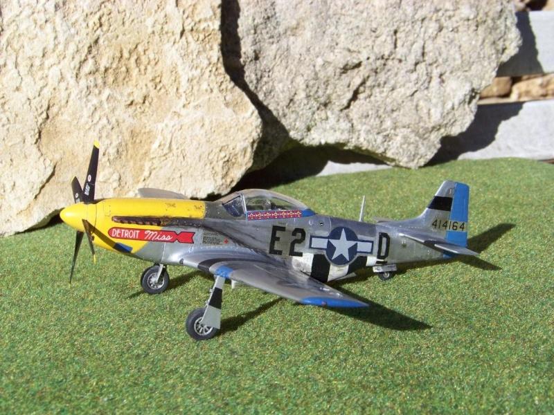North American P-51B Mustang, Monogram, 1/48, 1999 100_4510