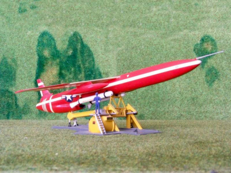 Northrop SM-62A Snark, Lindberg, 1/48. 100_8410