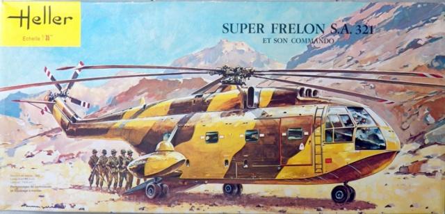 Aérospatiale AS 321 Super Frelon, Heller, 1/35.  100_9010