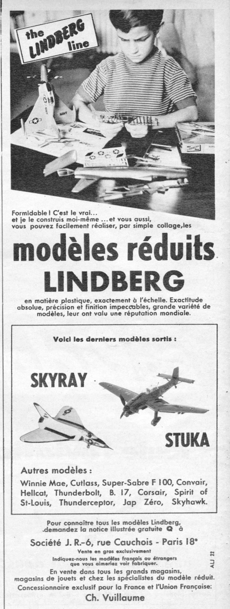 [Lindberg] Douglas F4D-1 Skyray, Kit No. 523:98 et Kit No. 562:98, vers 1955, 1/48 1958_010