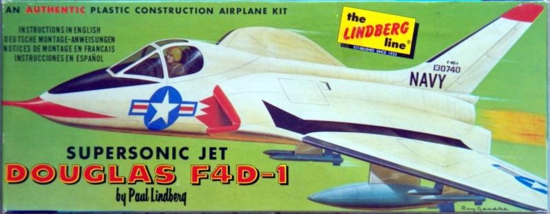[Lindberg] Douglas F4D-1 Skyray, Kit No. 523:98 et Kit No. 562:98, vers 1955, 1/48 F4d-1_14