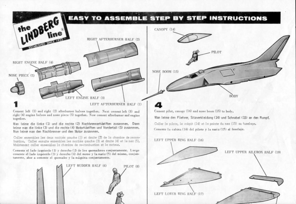 [Lindberg] Douglas F4D-1 Skyray, Kit No. 523:98 et Kit No. 562:98, vers 1955, 1/48 F4d-1_16