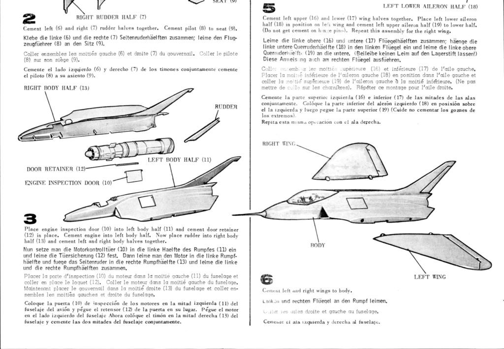 [Lindberg] Douglas F4D-1 Skyray, Kit No. 523:98 et Kit No. 562:98, vers 1955, 1/48 F4d-1_17