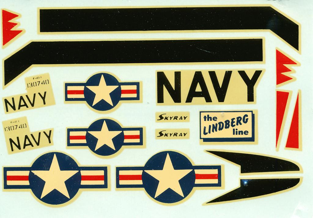 [Lindberg] Douglas F4D-1 Skyray, Kit No. 523:98 et Kit No. 562:98, vers 1955, 1/48 F4d-1_19