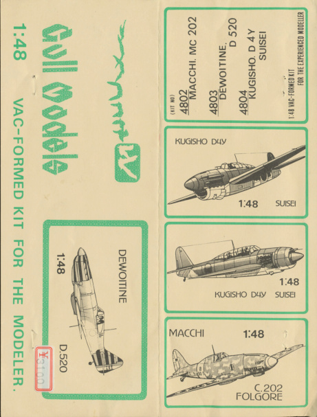 Dewoitine D. 520, Gull Wings 1/48, 1983 Img_0037