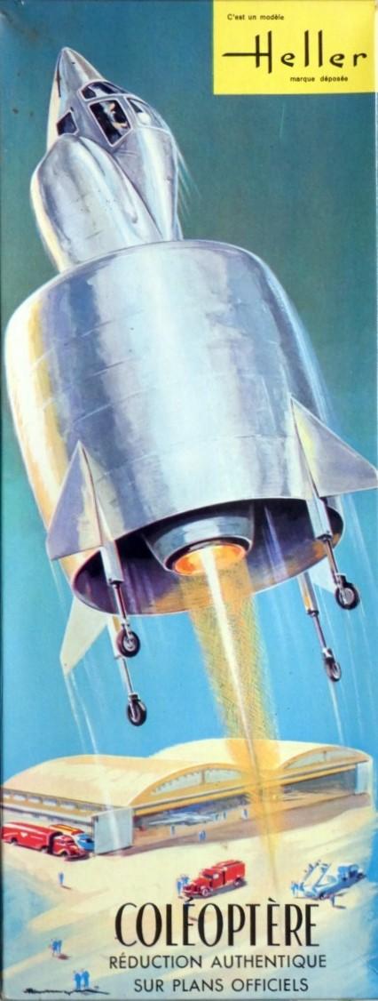 SNECMA C-450 COLEOPTERE 1/40ème Réf RL 1085 P1000610