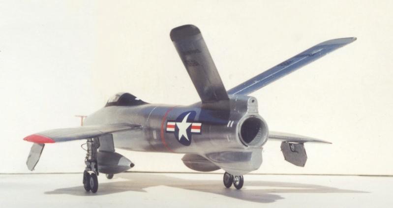 Republic XF-91 Thunderceptor, Lindberg, 1/48 Republ22