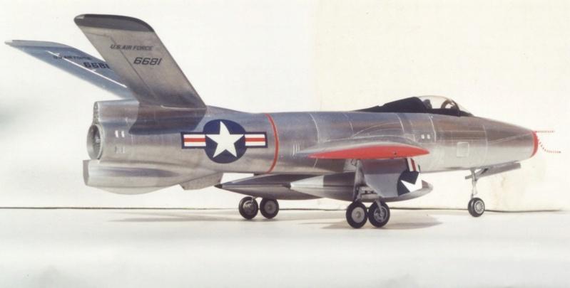 Republic XF-91 Thunderceptor, Lindberg, 1/48 Republ23