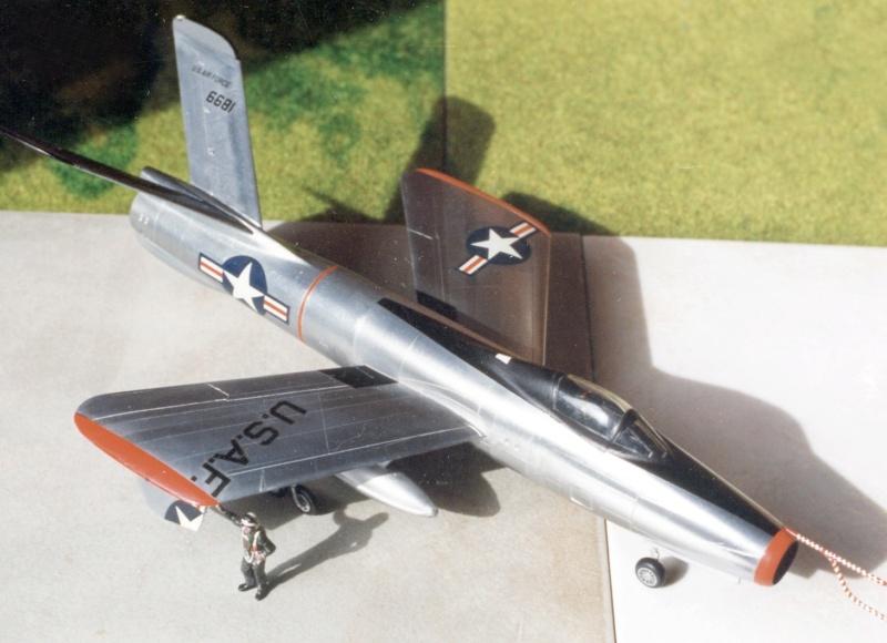 Republic XF-91 Thunderceptor, Lindberg, 1/48 Republ25