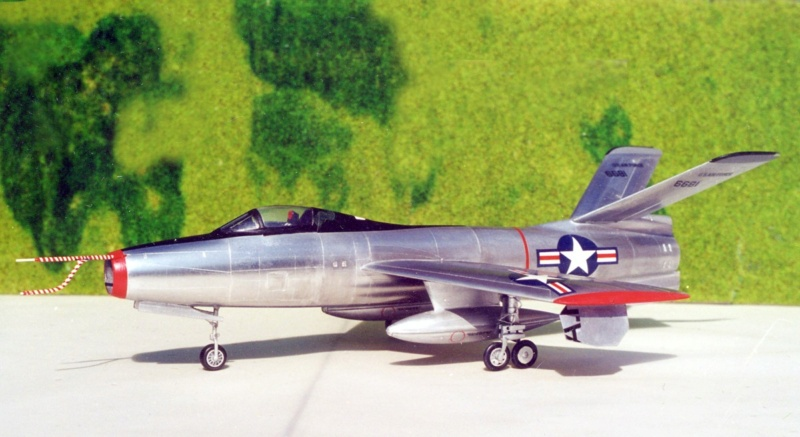 Republic XF-91 Thunderceptor, Lindberg, 1/48 Republ26