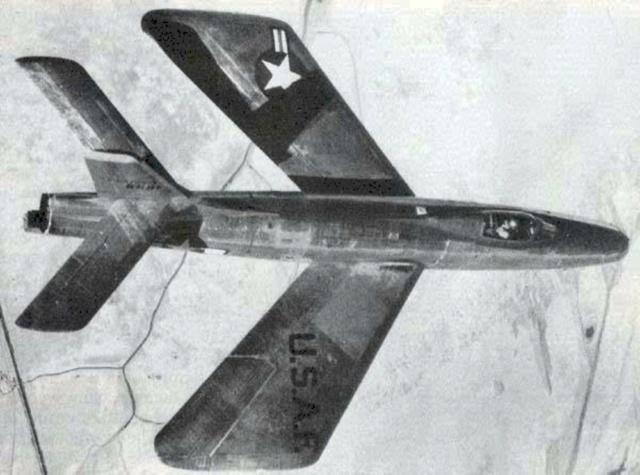 Republic XF-91 Thunderceptor, Lindberg, 1/48 Republ27