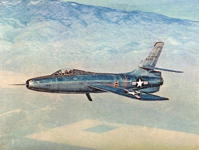 Republic XF-91 Thunderceptor, Lindberg, 1/48 Republ28