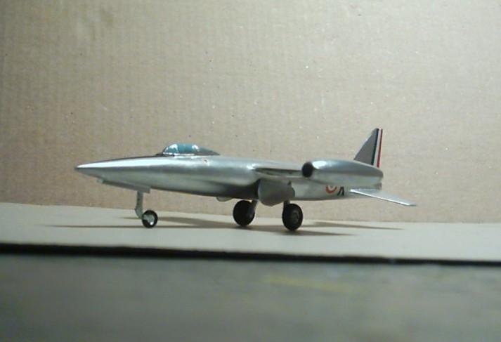 """SNCASO SO 9050 Trident II, maquette Ventax """"Ventavia"""" en thermo-formé, décembre 1959 Sncaso14"""