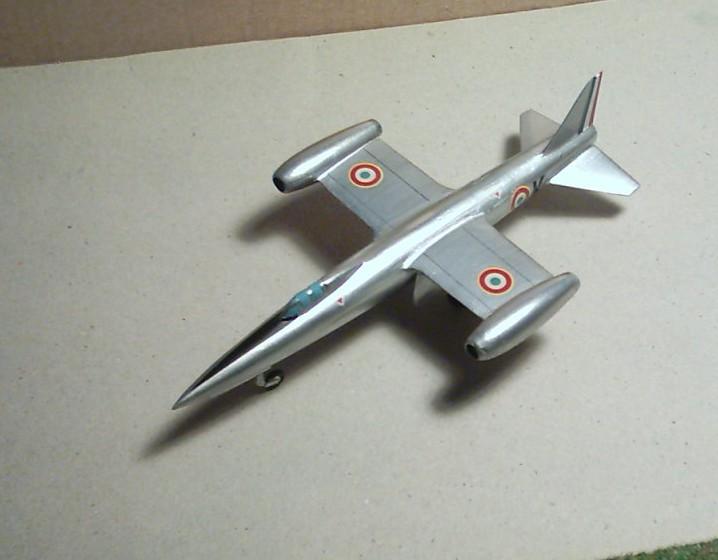 """SNCASO SO 9050 Trident II, maquette Ventax """"Ventavia"""" en thermo-formé, décembre 1959 Sncaso15"""