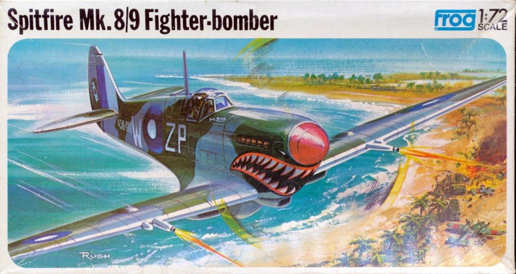 Supermarine Spitfire 8/9, maquette Frog, 1/72, 1974 Spitfi17