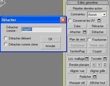 [3DS Max] Créer un rocher de A à Z. Detach11