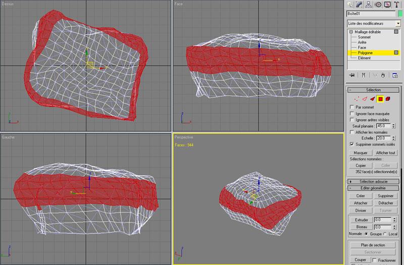 [3DS Max] Créer un rocher de A à Z. Faces110