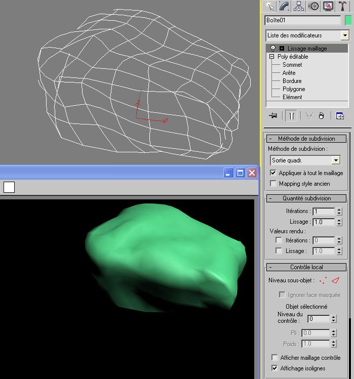 [3DS Max] Créer un rocher de A à Z. Lissag10