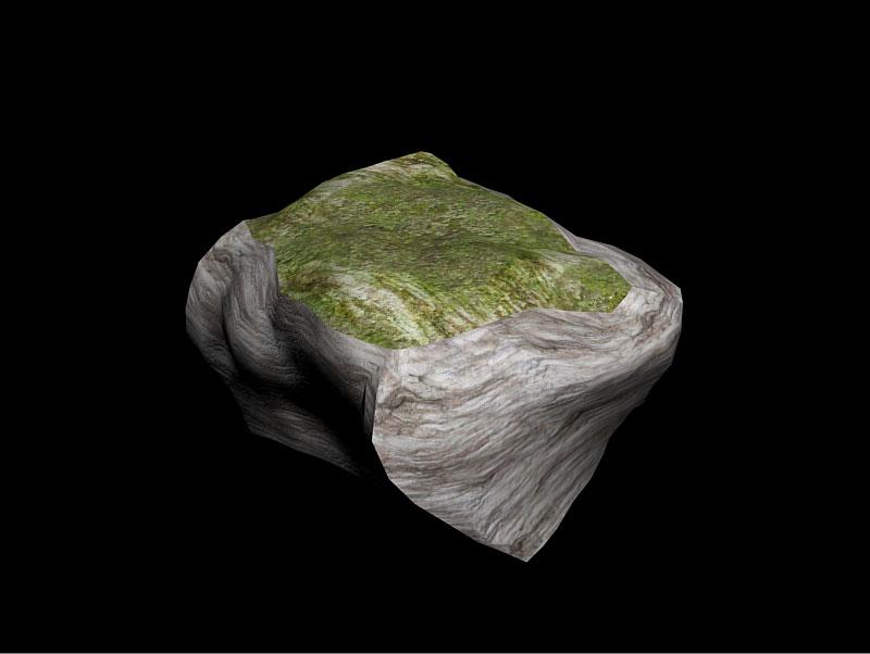 [3DS Max] Créer un rocher de A à Z. Rocher17