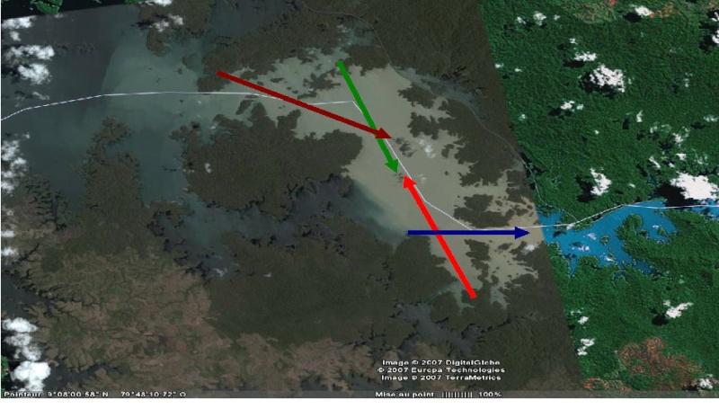 Canal de Panama navigation Lac Gatun Alignements (Terminé) - Page 2 Trajae10