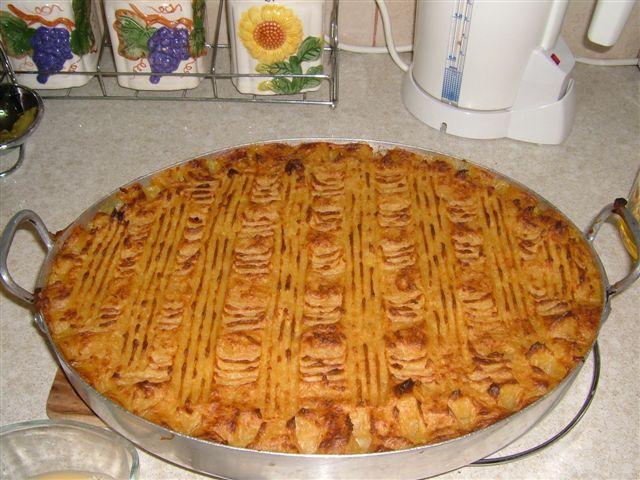 PASTEL DE CARNE Y PATATA  pastel de viande et pomme de terre 20040910