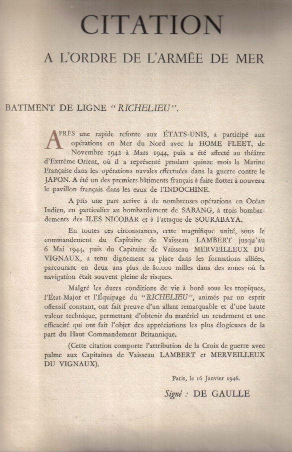 DEUX AMIS, DEUX MARINS Anciens du RICHELIEU - Page 5 Citati10