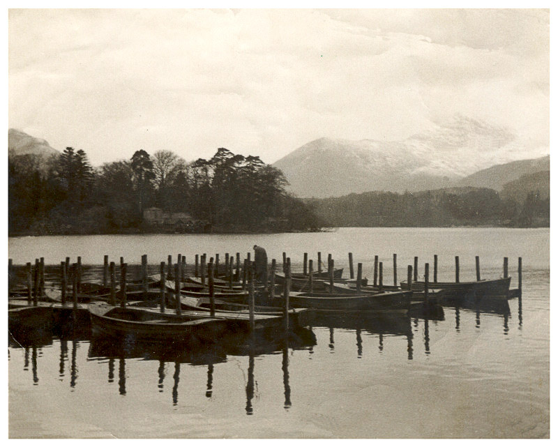 Derwent Water the Lake District Lake310