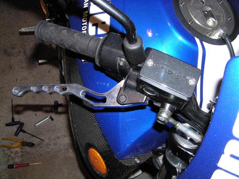 [TUB] T de fourche, Support et leviers ALU taillés CNC X1_vip10