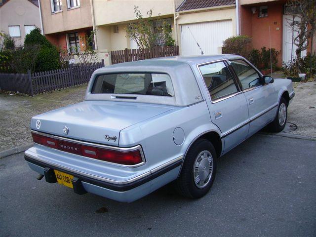 Dodge Dynasty et Chrysler New Yorker 12143_11