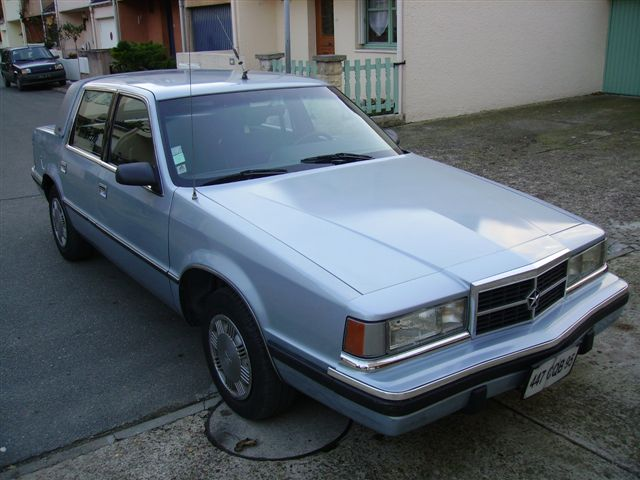 Dodge Dynasty et Chrysler New Yorker 12143_12