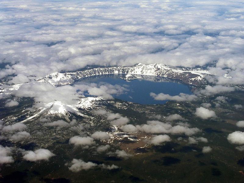 Crater Lake, Oregon - Etats-Unis 800px-10