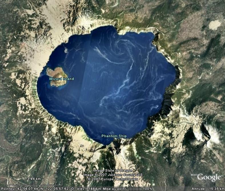 Crater Lake, Oregon - Etats-Unis Crater10