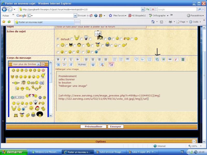 Tuto spécial avec le nouvel éditeur [Astuces du forum] Tuto_510