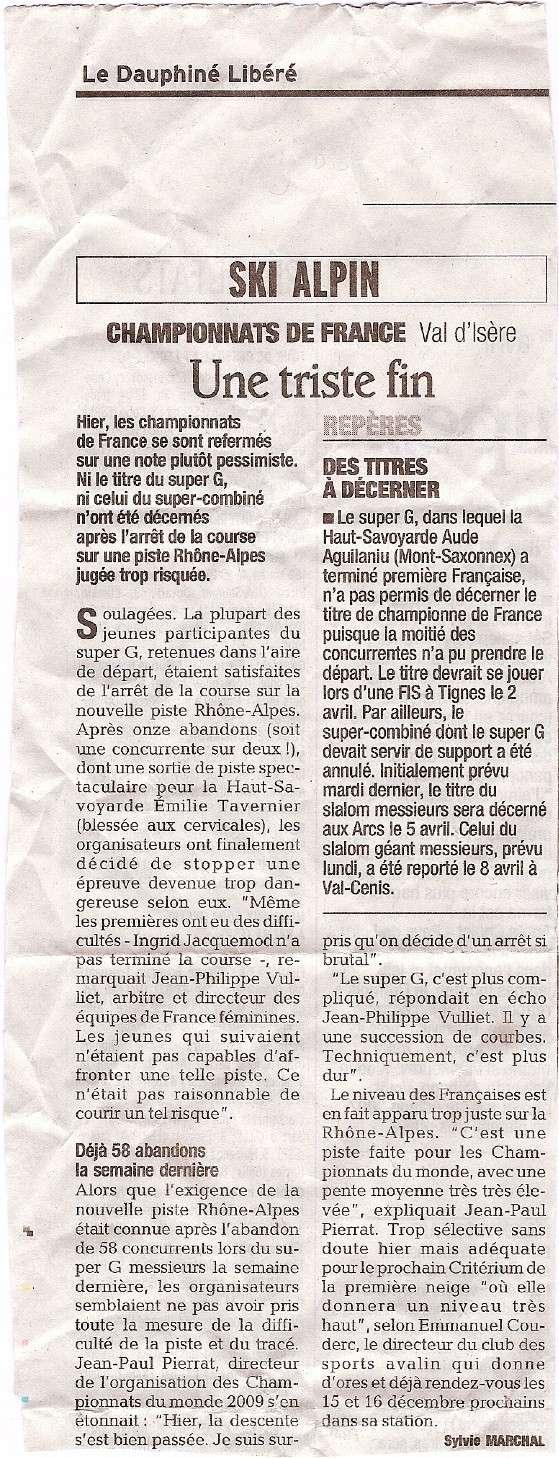 Championnats de France 2007 à Val - Page 2 Champd10