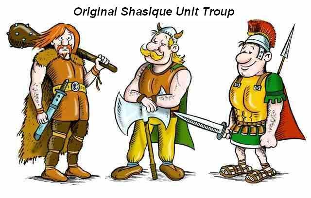 Original Shasique Unit Troup