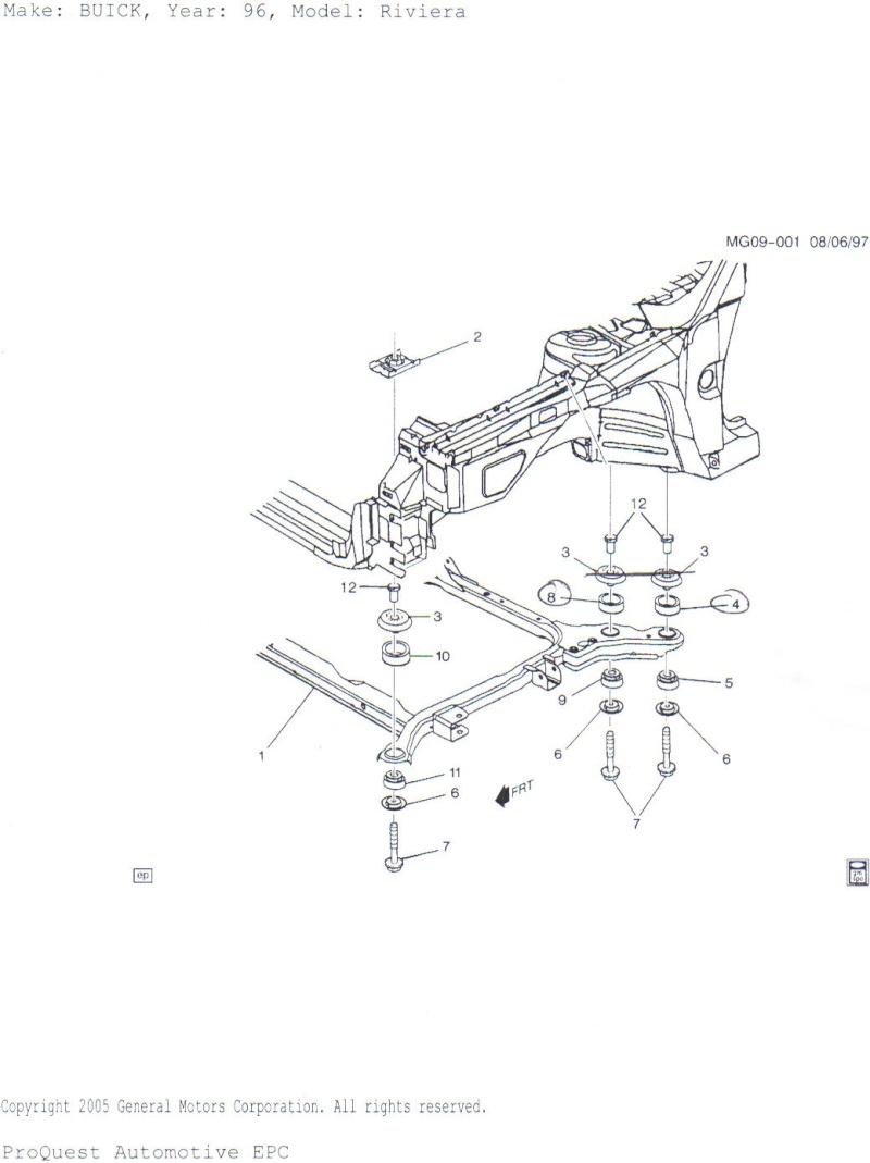 Write-Up: Subframe/Cradle Mount Insulators & Bushings Cradle10