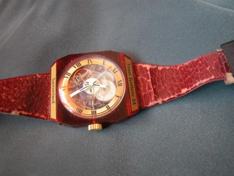 Il fallait de l'audace pour sortir la montre en plastique Tissot10