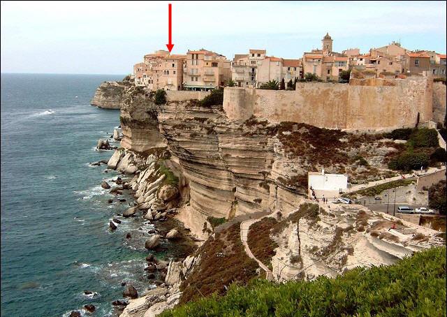 Le résidence de Marie-José Nat à Bonifacio, Corse Corse_11