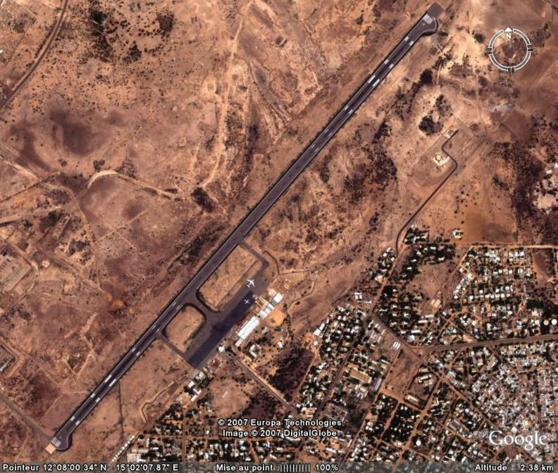 Avions et Aeroport N'Djamena,Tchad, Afrique Ge_aer10