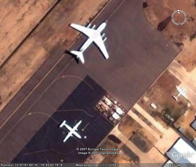 Avions et Aeroport N'Djamena,Tchad, Afrique Ge_avi10