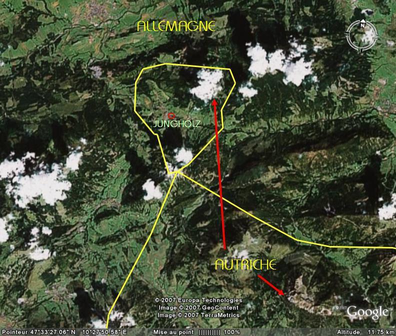 Bizarrerie des frontières, Jungholz - Autriche Ge_jun10