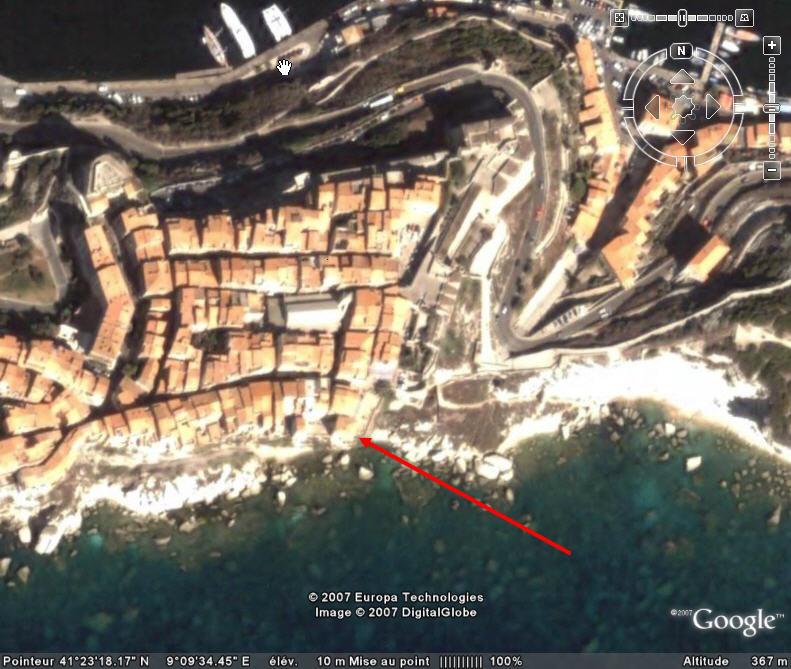 Le résidence de Marie-José Nat à Bonifacio, Corse Mj_nat11
