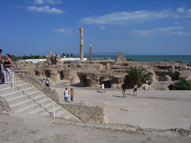 Les Thermes d'Antonin, Carthage - Tunisie Therme10