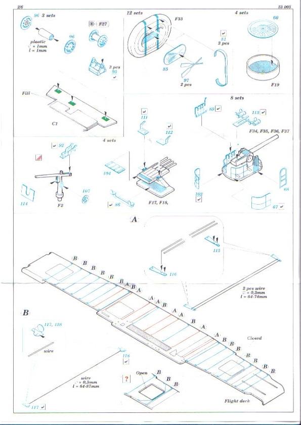 [Eduard] set photodecoupe pour HORNET trumpeter 1/350 Hornet11